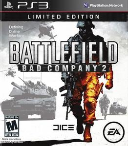 BATTLEFIELD BAD COMPANY 2 PS3 GAME DVD WITH 1 FREE GIFT OF YOUR CHOICE