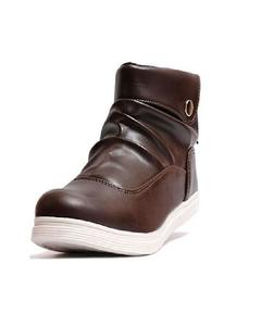 Brown Back Laces Sneaker For Men