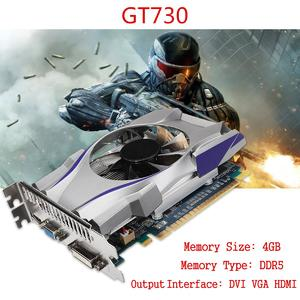 For NVIDIA GeForce 4GB GT730 GDDR5 128Bit Express Game Video Card Graphics New