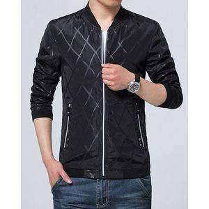 IDOL Fashion Mens Black Stylish Bomber Jacket. IFS-BJ3