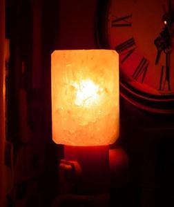 Wall Mount Himalayan Rock Salt Night Lamp Natural