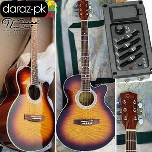Rogers Semi Acoustic Guitar ( Real Pics Attached ) 45% Discount
