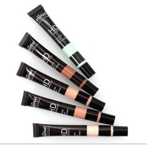 1pc Makeup High Definition Invisible Foundation Concealer Cover Skin Cream Face Maquiagem Base Contour 5 Colors 20g