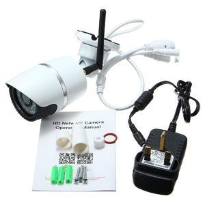 Wireless WIFI 720*1280P IP Camera ONVIF Outdoor Security Waterproof Night Vision (White)