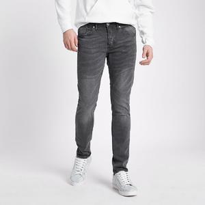 Grey denim jeans levis