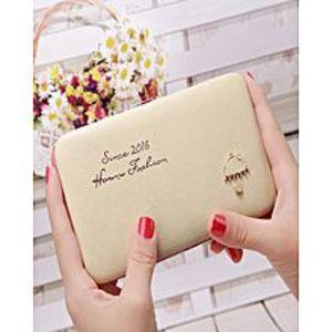 UniquecreationsFaux Leather Women Wallets Small Umbrella Wallet Button Clutch Purse Bag
