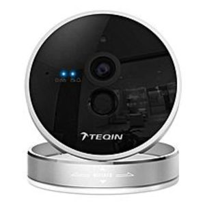 M.I.C Ufo Intelligent Network Wi-Fi Wireless Camera Video Monitoring Ip With 720P Hd Teqin - Silver