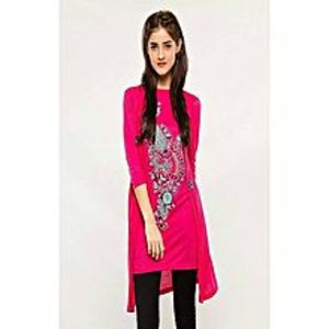 AH Collection Pakistan Pink Twill Shirt For Women