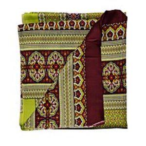 SmartUYellow Silk Shawl For Women