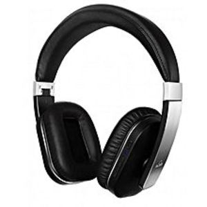 iDeaUSA APT-X (USA) - Wireless Over-ear Headphones with Mic -  S204 -Black & Silver