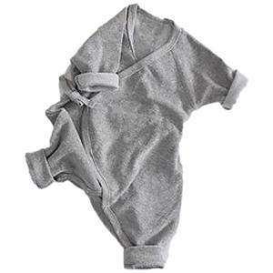 Baby Home Wear Kids Jumpsuit Baby Clothes Cute Grey/White Baby Supply