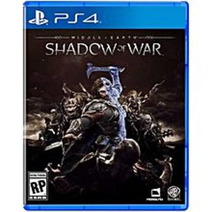SonySony Playstation 4 Dvd Middle Earth Shadow Of War Ps4 Game
