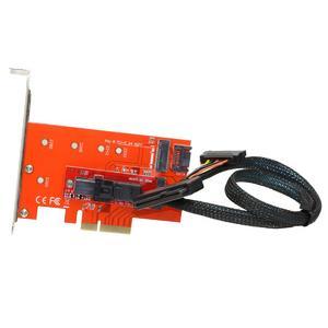 CY PCI-E 3.0 x4 Lane Host Adapter M.2 NGFF M Key SSD to U.2 U2 Kit