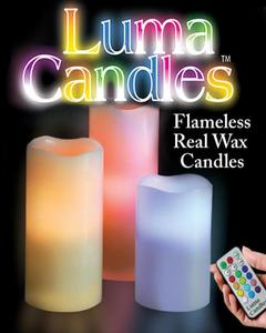 Luma Candles With Remote Control
