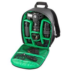 INDEPMAN DL-B013 Portable Waterproof Scratch-proof Outdoor Sports Backpack Camera Bag Phone Tablet Bag for GoPro, SJCAM, Nikon, Canon, Xiaomi Xiaoyi YI, iPad, Apple, Samsung, Huawei, Size: 26.5 * 12.5 * 33 cm(Orange)