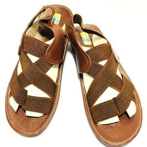 70% OFF New Sports Stylish Women's Brown Sandal / Slip-On With Straps for Style (Same Product As Pics)