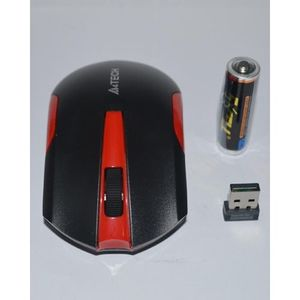 G3-200N Wireless Optical Mouse - Red