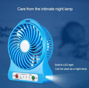 Portable mini USB Fan Cooler Rechargeable + Mobile Charger – Original by Aayan Super Mart