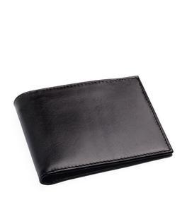 Buy Sc Black Leather Wallet For Men