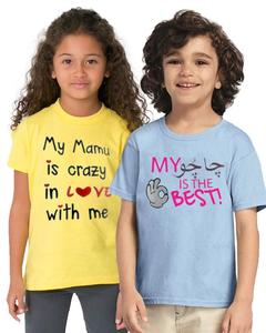 Pack Of 2 Chachu And Manu Kids T-Shirt Combo