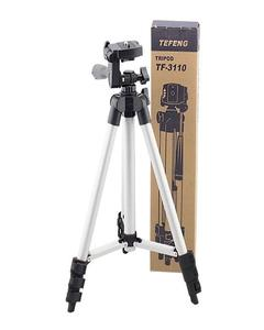 Tripod Stand For DLSR Camera With Mobile Holder - 3110 For Mobile And Camera