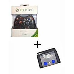 XboxXbox Wireless Controller For Xbox360 Plus Analog Extender - Black And Blue