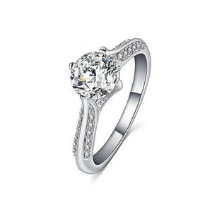 Shiny Bijouterie Pave Setting Cubic Zirconia Ring