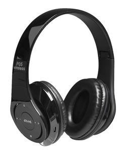 Wireless Bluetooth Sports HIFI Bass Stereo Headphones - Black
