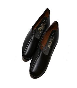 Black Synthetic Moccasin Shoes For Men