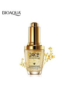 24K Gold Skin Care Moist Light Essense Dope Face Anti Wrinkle Anti Aging