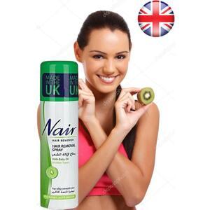 Nair Hair Removal Spray-200 ML-KIWI Extracts-UK