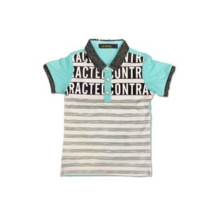 Imported Cotton Jersey Polo Shirt - Blue