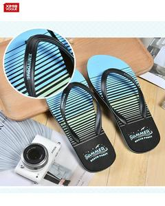 High Quality Flip Flop Slippers for Men's- Blue- Size:44