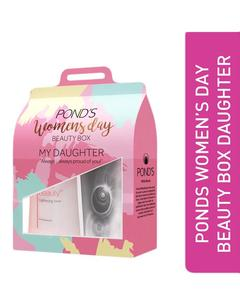 Women's Day Beauty Box (Daughter) - Pond's Pure White Deep Cleansing Face Wash 100 gm & White Beauty Lightening Toner 150 ml
