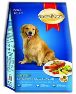 SMART HEART  DRY FOOD DOG CHICKEN AND EGG FLAVOR  3 KG