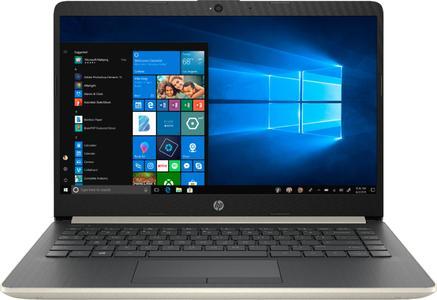 HP 14-CF0006DX Laptop - 7th Gen. Core i3-7100U - 4GB Memory - 128GB SSD - Windows 10