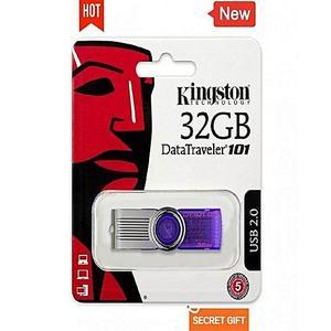 flash drive / Data Traveler /  USB  - 32 GB  - Kingston - purple