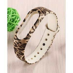 Belt / Strap for Mi Band 2 Leopard Cheeta Design - Multicolor