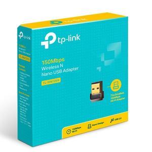 TP-Link TL-WN725N Mini Portable High-speed USB Adapterr WIFI AP Wireless N Router 150Mbps -Black - BLACK NN0015601