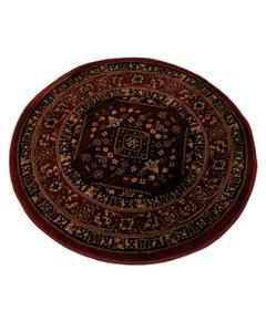 Round Rug - Synthetic - 3X3 - D.Red
