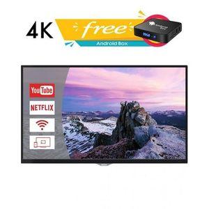 55MU007 - 4K UHD LED TV - 55 - Glossy Black with Free Android Box