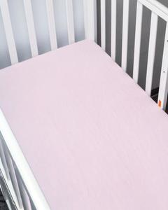 Pink Single Fitted Bed Lining