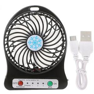 Portable LED Light  Mini Fan Air Cooler Mini Desk USB Fan