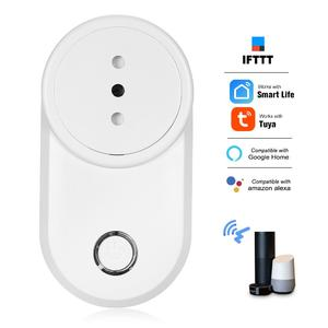 Mini Smart Power Plug Smart Home Socket Voice Control Compatible with Amazon Echo & for Google Home IFTTT Tmall Elf Timing Function App Remote Control from Anywhere