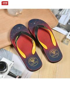 High Quality Flip Flop Slippers for Men's- Wine Red- Size:40
