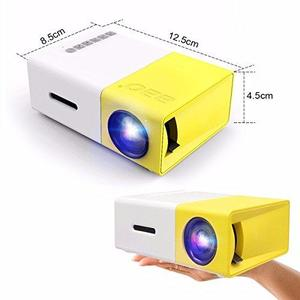 Portable HD Chargeable Mini LED Projector