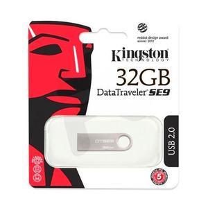 Kingston 32GB USB Card 3.0 Data Traveler SE9 G2 (Metal) 100MB/s read 15MB/s write