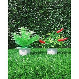 NS CollectionPack of 2 Poacase + Red Pepper 'Artificial Tree
