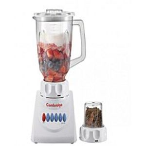 Cambridge ApplianceCA BL208 - 2 in 1 Blender with Mill - White