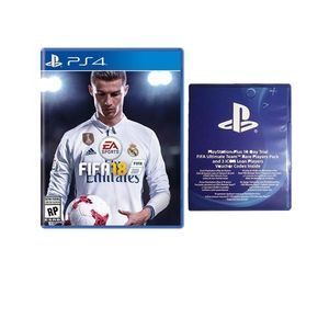 FIFA 18 Standard Edition with 14 Day Trial FIFA Ultimate Team Rare Players Pack + 3 ICON Loan Players - PS4